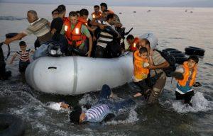 Μυτιλήνη, πρόσφυγες,