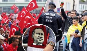 Γερμανία,Διαδηλωτές,Ερντογάν,