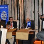 Ο Γιώργος Γκάμαρης σε εκδήλωση του Ομίλου Ροταριανών Αγίας Παρασκευής